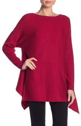 Nicole Miller New York Solid Twist Back Sweater