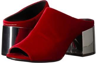 MM6 MAISON MARGIELA Velvet Mule Women's Shoes