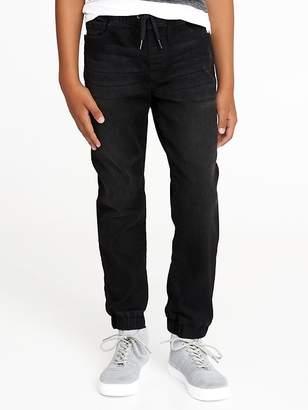 Old Navy Built-In Flex Max Black Jogger Jeans for Boys