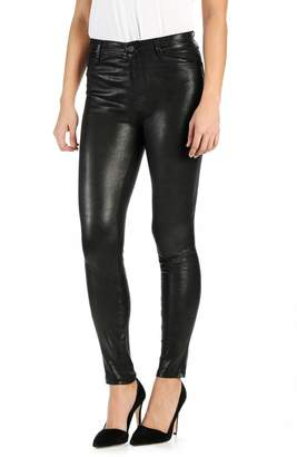 Paige 'Hoxton' High Rise Ultra Skinny Leather Pants