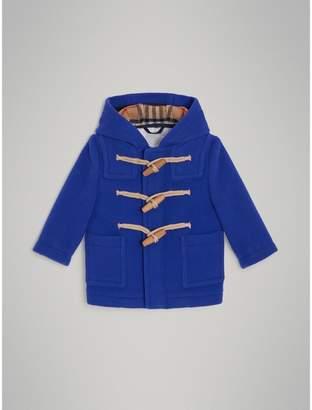 Burberry Childrens Boiled Wool Duffle Coat