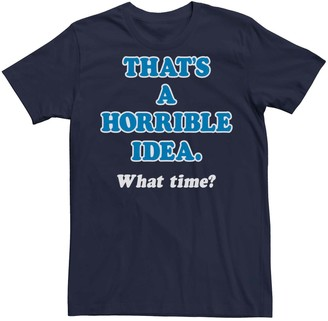 IDEA Licensed Character Men's That's A Horrible Graphic Tee