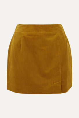 Bella Freud Alex Cotton-corduroy Mini Skirt