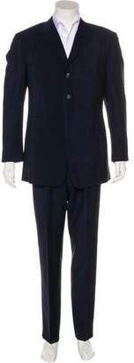 Gianni Versace Wool & Mohair Suit