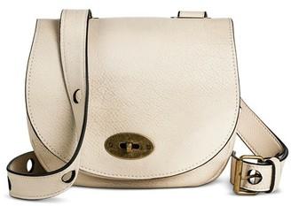 Women's Faux Leather Saddle Crossbody Handbag - Mossimo Supply Co. $24.99 thestylecure.com