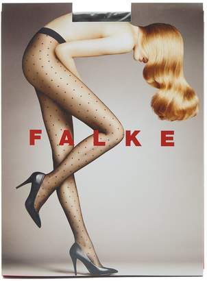 Falke Dot transparent 15 denier tights
