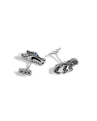 John Hardy Men's Legends Naga Dragon Cuff Links with Spinel