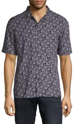 Eleven Paris Short Sleeve Printed Shirt