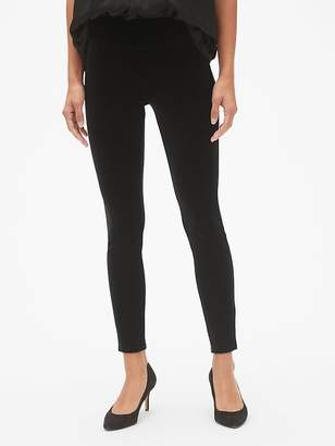 Gap High Rise Velvet Leggings