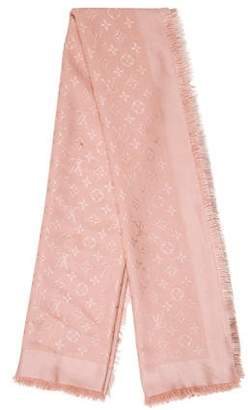 Louis Vuitton Monogram Knit Shawl