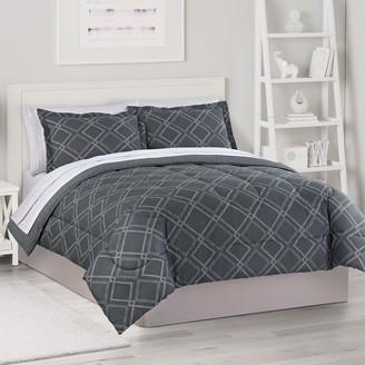 The Big One Herringbone Lattice Bedding Set