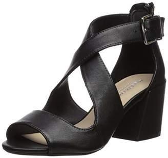 Kenneth Cole New York Women's Hannon Criss Cross Strap Heeled Sandal