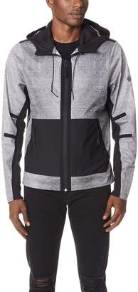 Isaora Welded Digital Mesh Shell Jacket