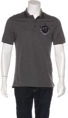 Givenchy Pique Logo Polo Shirt