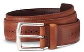 Allen Edmonds Brogue Street Leather Belt