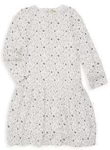Little Girl's Boogie Full Frill Stretch Cotton Dress