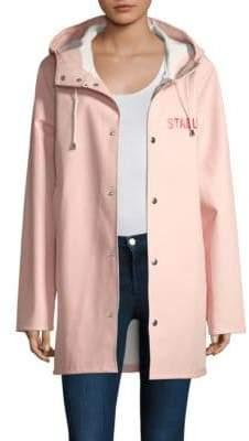 Stutterheim Pink Raincoat
