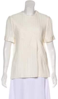 Victoria Beckham Victoria Short Sleeve Casual Top