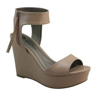 Michael Antonio Womens Amus Wedge Sandals