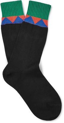 Prada Patterned Cotton Socks $200 thestylecure.com