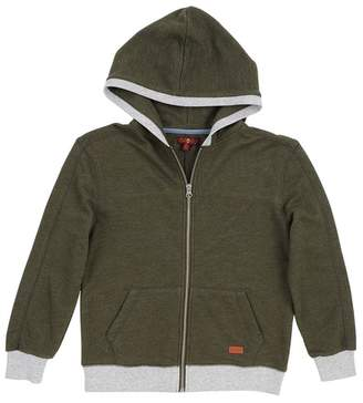 7 For All Mankind Olive Thermal Hoody (Little Boys)