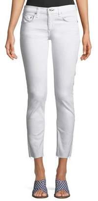 Rag & Bone Dre Mid-Rise Cropped Skinny Stretch-Twill Jeans