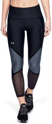 Under Armour Women's HeatGear Armour Shine Ankle Crop