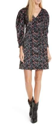 Rebecca Taylor Lisette Velveteen Dress