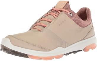 Ecco Shoes Women's Biom Hybrid 3 Golf Shoes, Wild Dove/Emerald