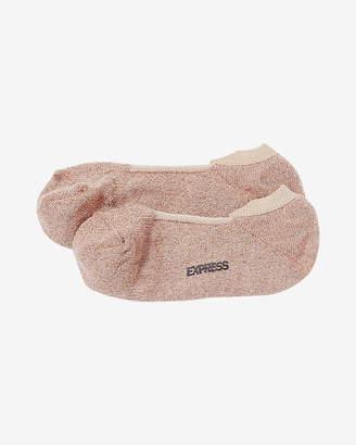 Express Metallic No-Show Socks