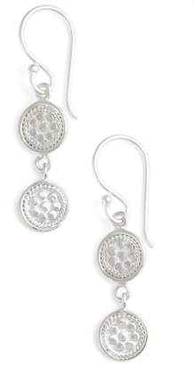 Anna Beck Double Disc Drop Earrings