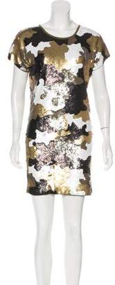 MICHAEL Michael Kors Sequined Mini Dress