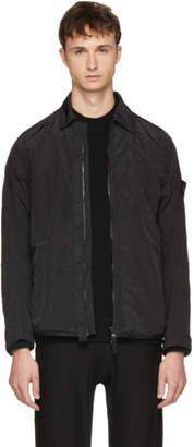 Stone Island Black Nylon Overshirt