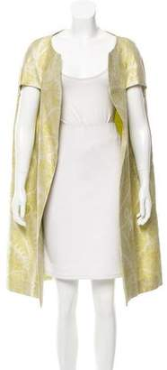 Barbara Tfank Textured Patterned Cape