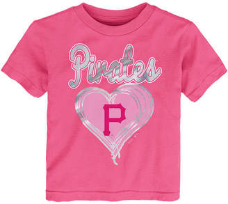 Outerstuff Pittsburgh Pirates Unfoiled Love T-Shirt, Toddler Girls (2T-4T)