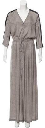 A.L.C. Striped Maxi Dress