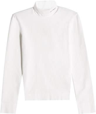 Calvin Klein Cotton Turtleneck Top