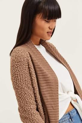 Ardene BouclA Knit Cardigan