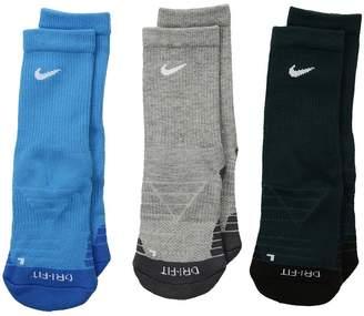 Nike Dri-Fit Cotton Cush Crew Boys Shoes