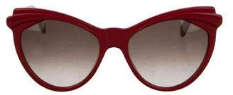 Cat Eye Zanzan Erzulie Cat-Eye Sunglasses