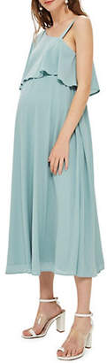 Topshop MATERNITY Nursing One Shoulder Dress