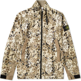 Stone Island Alligator Camo Light Cotton Nylon Rep Jacket