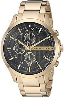 Armani Exchange Men's AX2137 Gold Watch