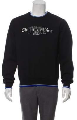 Christian Dior 2017 New Wave Logo Sweatshirt black 2017 New Wave Logo Sweatshirt
