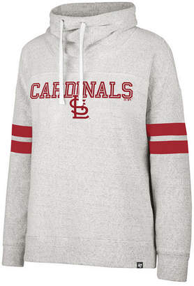 '47 Women's St. Louis Cardinals French Terry Funnel Hoodie