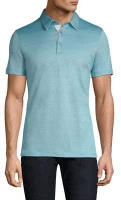 Pal Zileri Silk Blend Polo Shirt