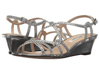 e5ac0fda1a4d Nina Silver Open Toe Women s Sandals - ShopStyle