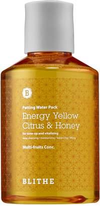Blithe - Energy Yellow Citrus & Honey Splash Mask