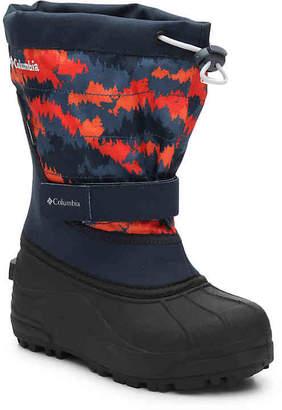 Columbia Powderbug Plus II Youth Snow Boot - Boy's