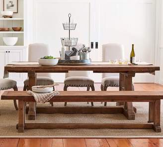 Pottery Barn Stafford Reclaimed Pine Extending Dining Table
